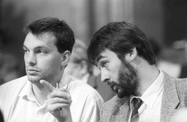 Orbán Viktor és Áder János régen