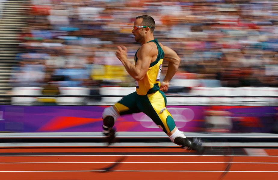 Oscar Pistorius a híres sportoló / atléta