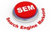 Keresőmarketing (SEM = Search Engine Marketing): olyan online marketing, amely a keresőmotorok hirdetéseit használja fel arra, hogy egy adott honlap, szolgáltatás, termék látogatottságát növelje úgy, hogy magas konverziót érjünk el általa.